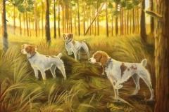 Bird Dogs--Brittany Spaniels