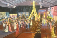 Paris Themed Prom